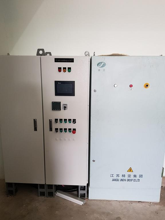 Hệ thống lọc bụi nhà máy sợi
