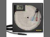 """Dickson TH800 8 """"(203mm) Nhiệt độ và độ ẩm ghi biểu đồ"""