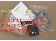 Cable kết nối biến tần Siemens Series MM420, MM430, MM440