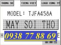 Màn hình máy sợi thô TJFA458