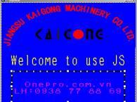 Màn hình máy cuộn cúi JSFA360A PWS6600T