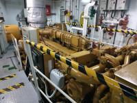 Giám sát nhiệt độ đầu máy trên tàu biển